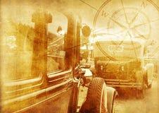 Oldtimers-Hintergrund Stockbilder