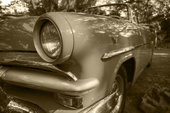 Oldtimers i Kuba Royaltyfria Bilder
