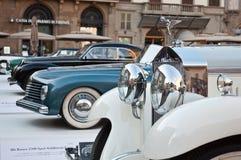 Oldtimers italiani fotografia stock libera da diritti