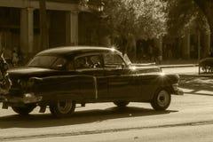 Oldtimers in Kuba Lizenzfreie Stockfotos