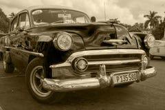 Oldtimers in Kuba Lizenzfreie Stockbilder