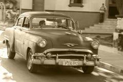 Oldtimers in Kuba Stockbild