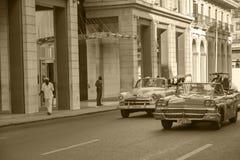 Oldtimers w Kuba zdjęcia royalty free