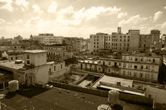 Oldtimers w Kuba obrazy royalty free
