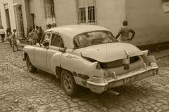 Oldtimers w Kuba obraz royalty free