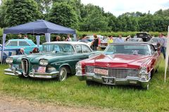Oldtimershow in Bavaria. Oldtimershow in Bad Aibling in Bavaria Royalty Free Stock Photo