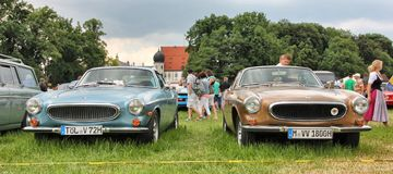 Oldtimershow em Baviera imagem de stock royalty free