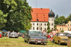 Oldtimershow em Baviera imagem de stock