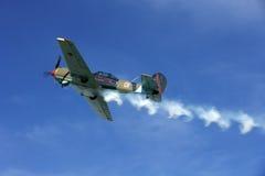 oldtimertommama för 021 flygplan Arkivfoton