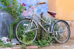 Oldtown图森自行车 免版税库存照片