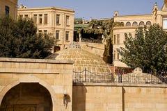 Oldtown av Baku Royaltyfri Foto