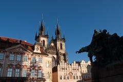Oldtown de Praga Imagen de archivo libre de regalías
