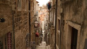Oldtown di Ragusa in Croazia Fotografia Stock