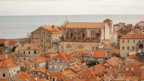 Oldtown di Ragusa in Croazia Immagini Stock Libere da Diritti