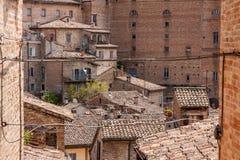 Oldtown di Urbino Immagini Stock Libere da Diritti