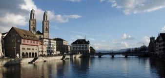 Oldtown di Zurigo - Svizzera fotografia stock libera da diritti