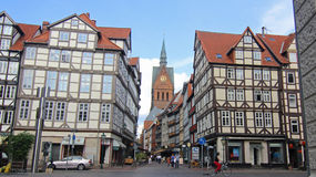 Oldtown Hannover Stock Photo