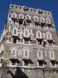 oldtown sanaa Υεμένη Στοκ Φωτογραφίες