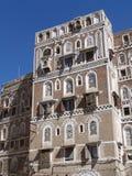 oldtown sanaa Υεμένη Στοκ Φωτογραφία