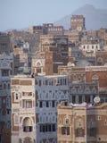 oldtown sanaa Υεμένη Στοκ Εικόνες