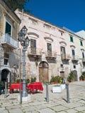Oldtown van Trani. Apulia. Royalty-vrije Stock Foto