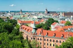 Oldtown von Krakau Stockfoto