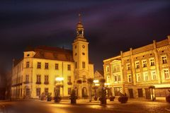 Oldtown w Boguszow Gorce Zdjęcia Royalty Free