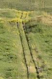 OldTrail na pradaria Fotografia de Stock Royalty Free
