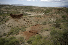 Olduvai Gorge Royalty Free Stock Photos