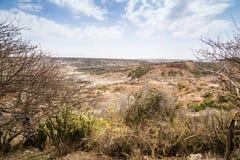 Olduvai in Tansania Stockbilder