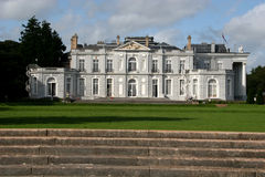Oldway mansion. From formal garden up stone steps Royalty Free Stock Image