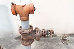 Ole fire safety plumbing Stock Photography