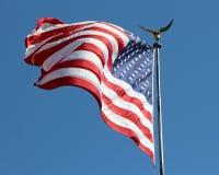 Ole Flag magnífico Imágenes de archivo libres de regalías
