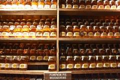 Ole Smoky Moonshine Holler in Gatlinburg, Tennessee Stock Photo