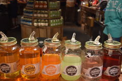 Ole Smoky Moonshine Holler in Gatlinburg, Tennessee. In the USA royalty free stock photo