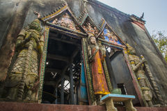 Ole temple. Old wat is a Buddhist temple in the historic centre of Songkhla, Thailand Stock Image