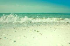 Oleada del mar Fotos de archivo