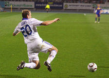Oleg Gusev de dynamo Kyiv Photo stock