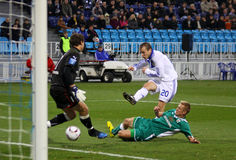 Oleg Gusev of Dynamo Kyiv Royalty Free Stock Photo
