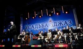 Oleg Lundstrem Big-Band Stock Image