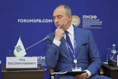 Oleg Soloshchanskiy Stock Foto's