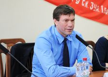 Oleg Tsarev乌克兰人政客 免版税库存图片