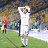 Oleh Gusev of FC Dynamo Kyiv Royalty Free Stock Images