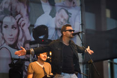 Oleh Sobchuk frontman av Royaltyfria Bilder