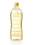 Olej do smażenia butelka Fotografia Stock
