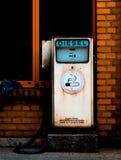 olej napędowy retro stacji gazowej fotografia royalty free