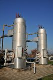 olej piszczy zbiorniki Obrazy Stock