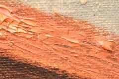 olej pomalowane tło Obrazy Stock