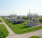 oleju gazowego przemysłu Zdjęcie Royalty Free