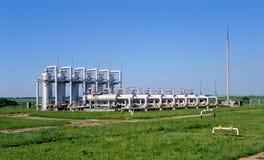 oleju gazowego przemysłu Zdjęcia Royalty Free